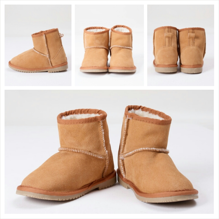 Ankle Boots Kids Camel
