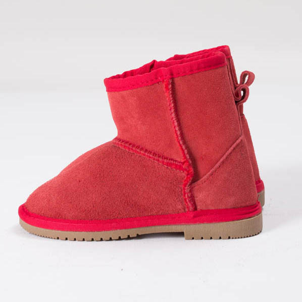 Ankle Boots Kids Red