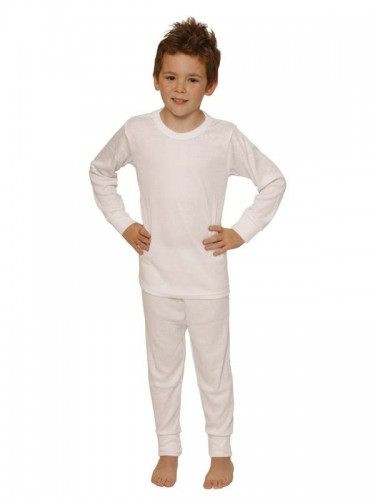 Wool Long John for Boys