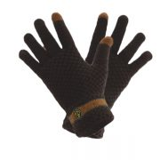 Anchor Knit Winter Gloves