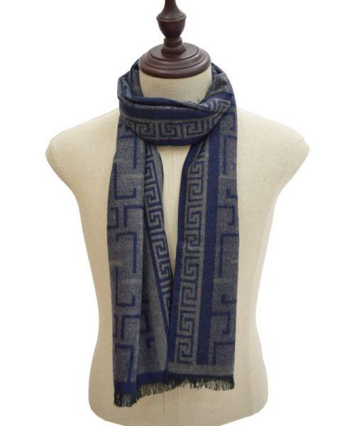 Winter Warm Scarf Line in Blue 129b Syal ini terbuat dari bahan yang sangat berkwalitas. sangat berguna di udara dingin, jadi bagi anda yang ingin..........