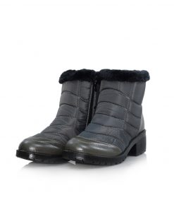 Women Winter Warm Snow Boots-093D with full fur inside. very comfort and stylish. waterproof hangat dan nyaman untuk musim dingin, Aman dan anti selip ......