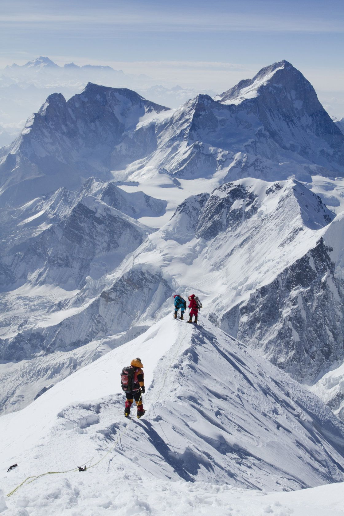 Mount Everest Climber Warns Of An Overpopulated Mountain